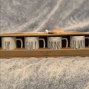 RAE DUNN Espresso Mug Set of 4